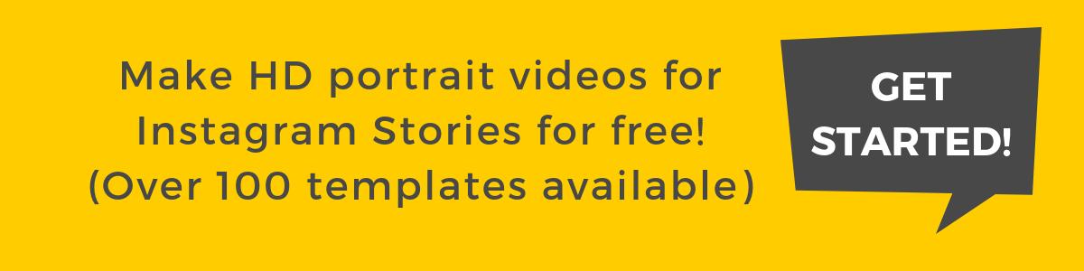 Make instagram story videos with rocketium