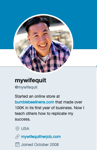Steve Chow's Twitter account