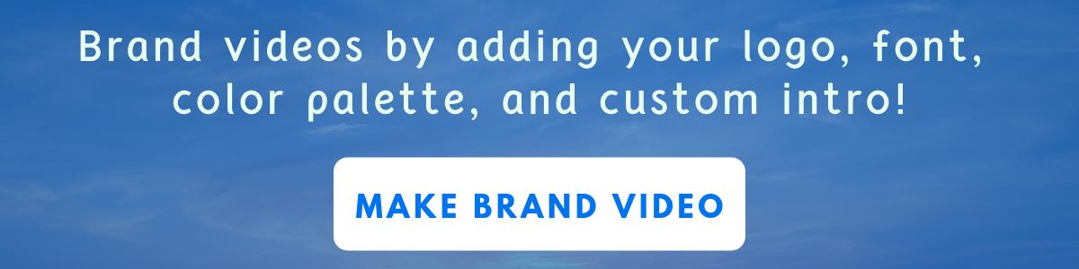 make branded videos using rocketium