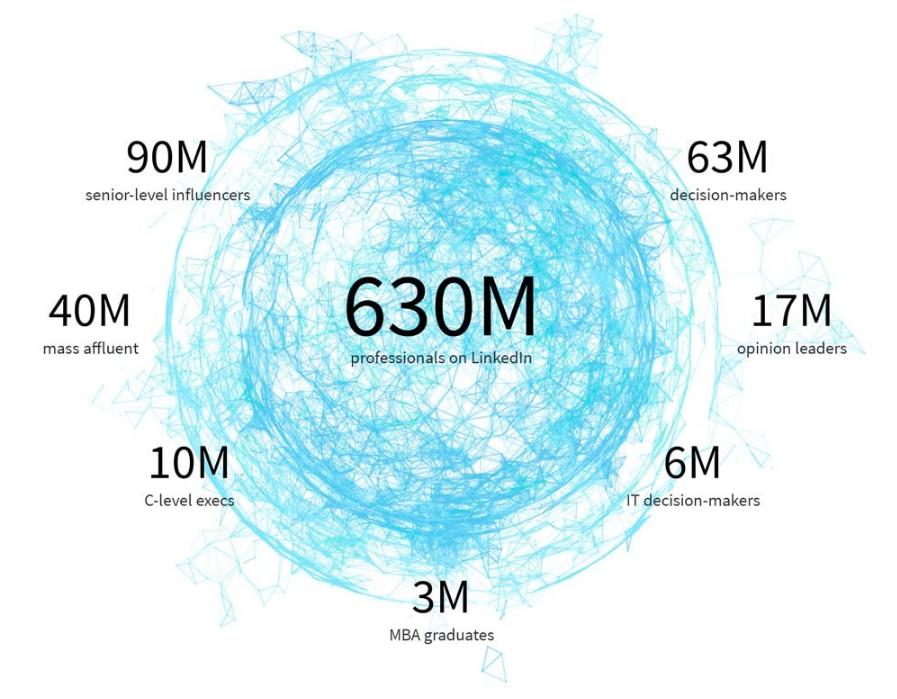 linkedin user statistics for linkedin ads