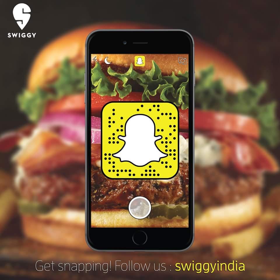 Swiggy-Snapchat